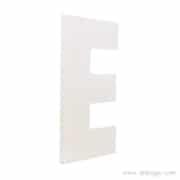 PVC 10mm blanc