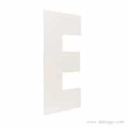 PVC 3mm blanc